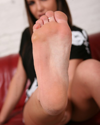 Foot Fetish : Darcy Tyler!